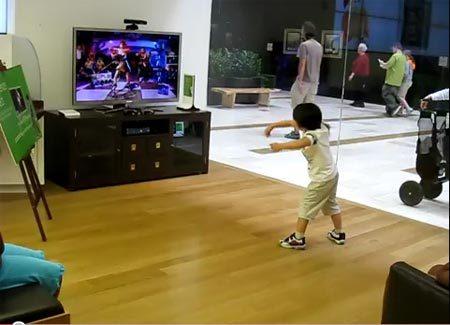เพลินสุด ๆ นักเต้นรุ่นจิ๋ว เต้นเกม Xbox Kinect