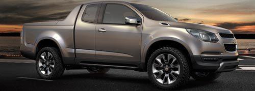 Chevrolet Colorado 2012 ตัวต้นแบบ