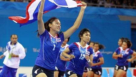 กาบัดดี้ สาวไทยพ่ายอินเดีย