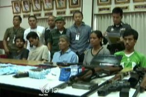 ตำรวจจับกุมเครือข่ายค้ายา ในเรือนจำกลางนครศรีธรรมราช