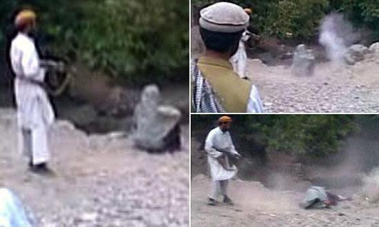 หนุ่มตาลีบันสุดโหดยิงภรรยาทิ้ง หลังถูกสวมเขา